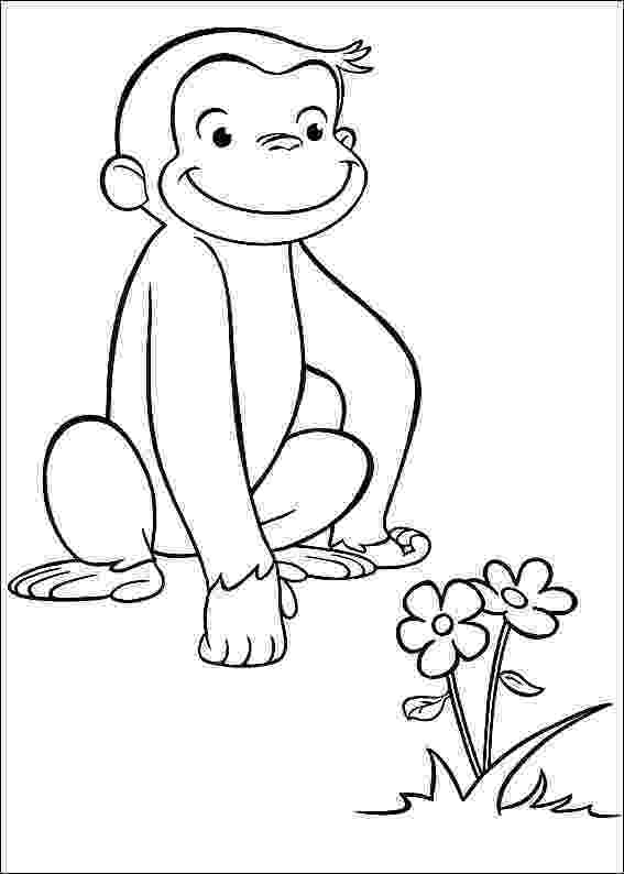 free printable curious george coloring pages curious george coloring pages to download and print for free curious coloring george printable free pages
