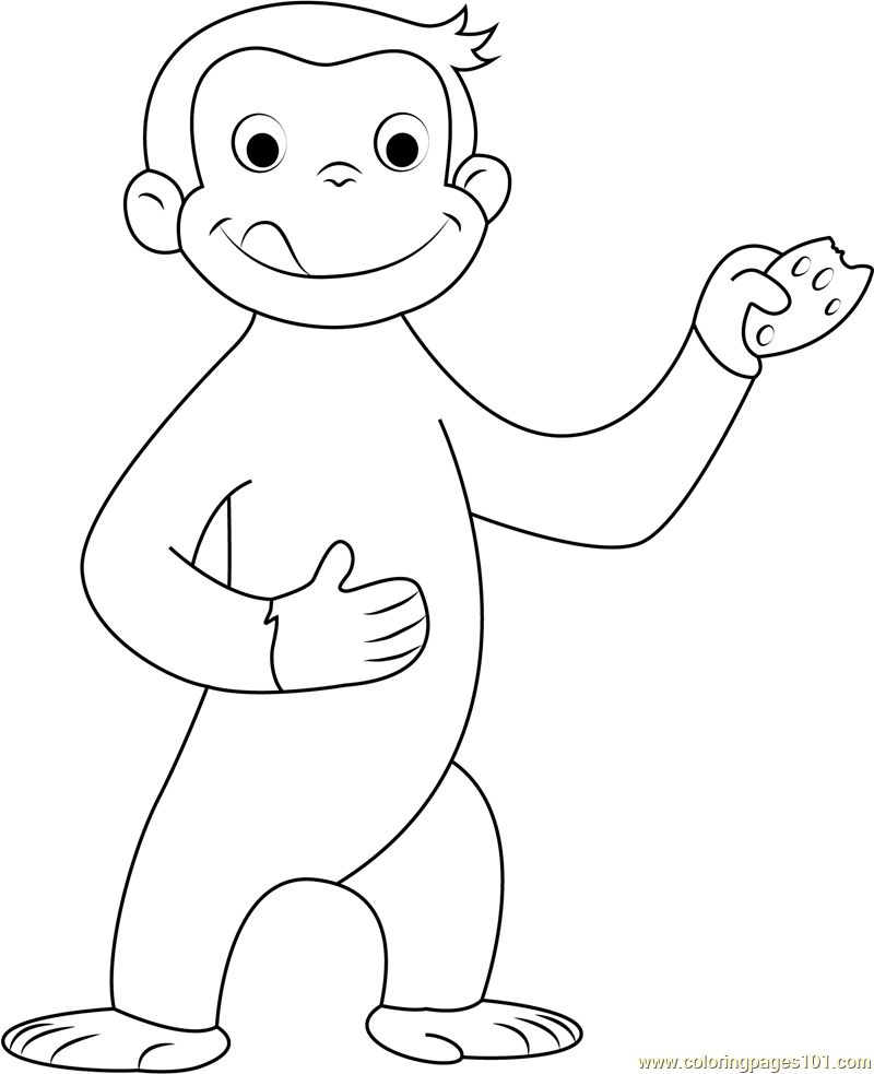 free printable curious george coloring pages curious george printables pbs kids curious printable coloring george free pages
