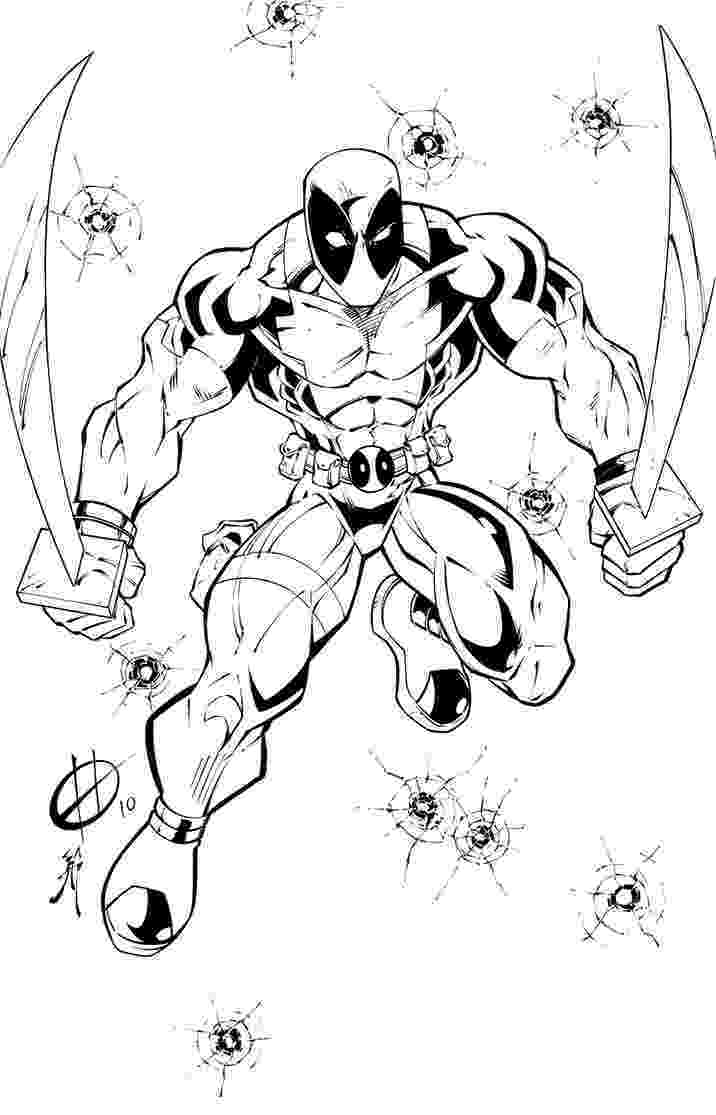 free printable deadpool coloring pages deadpool coloring page free printable coloring pages pages coloring free deadpool printable