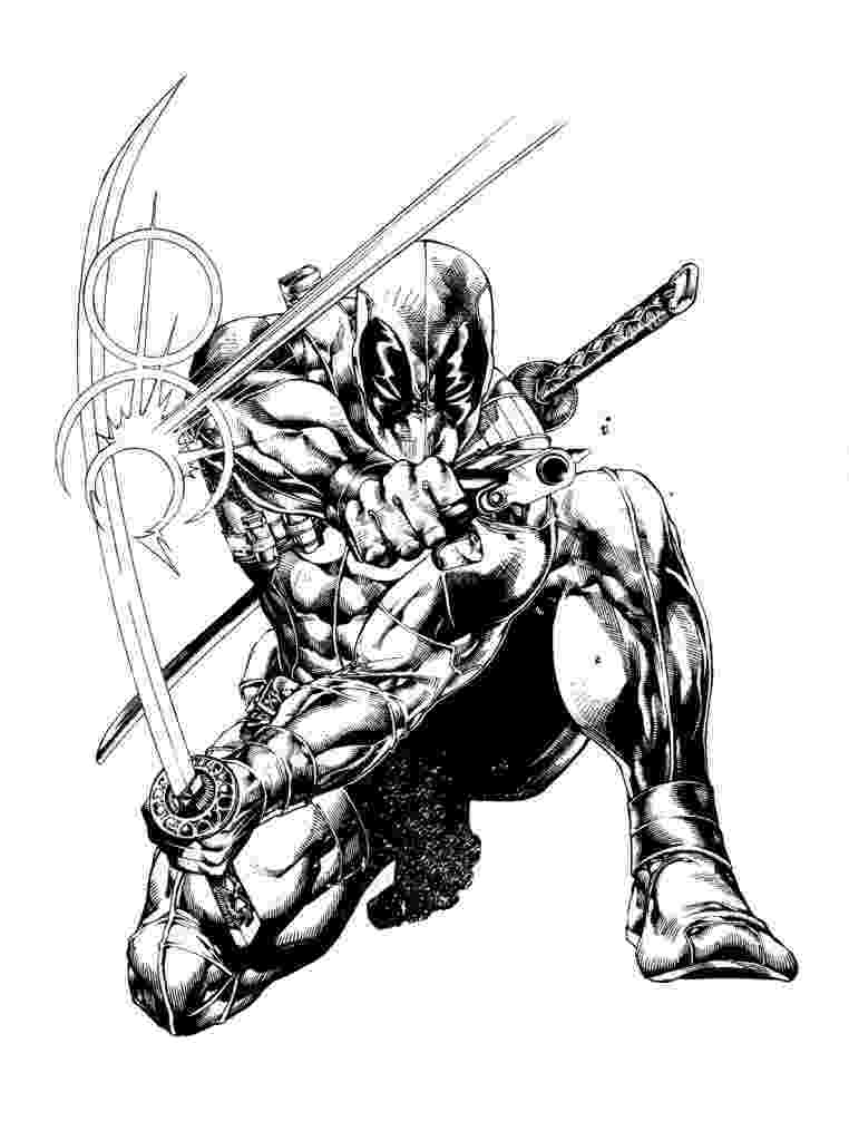 free printable deadpool coloring pages deadpool coloring pages to print comic book coloring pages free deadpool coloring printable