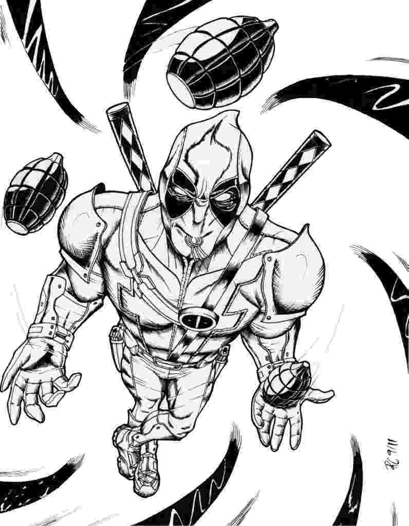 free printable deadpool coloring pages free printable deadpool coloring pages for kids pages coloring printable deadpool free