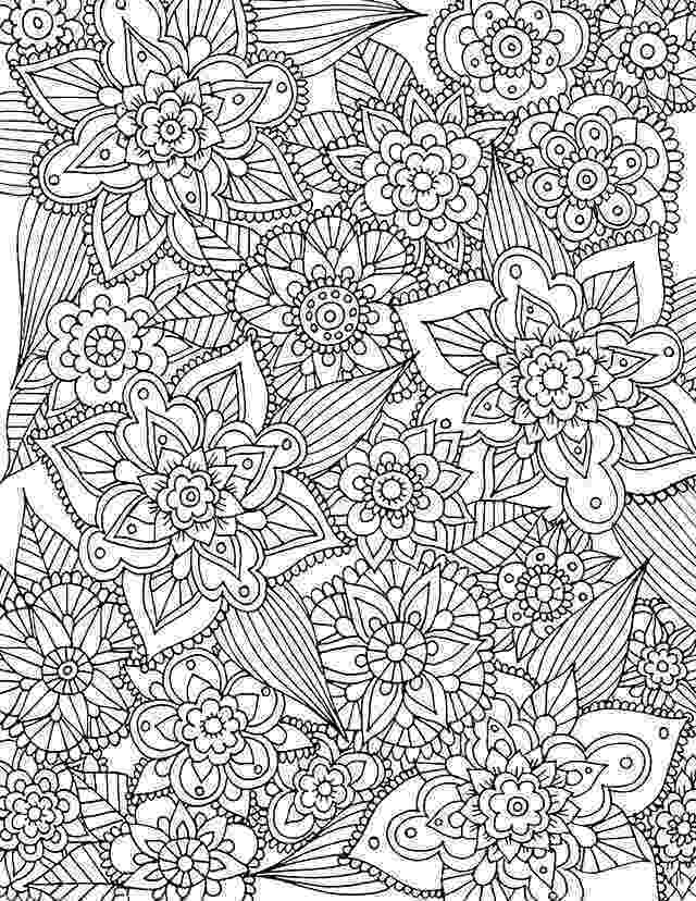 free printable flower coloring pages for adults alisaburke free spring coloring page download spring coloring adults for flower printable pages free