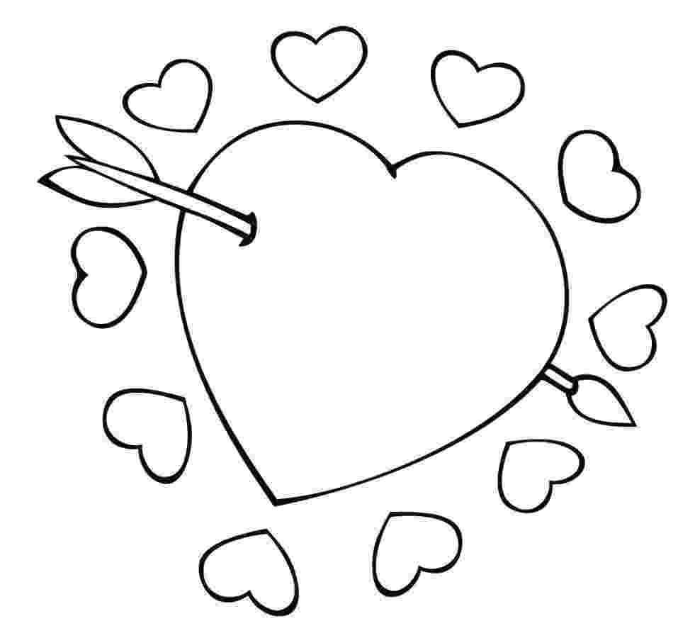 free printable hearts free printable heart coloring pages for kids free hearts printable