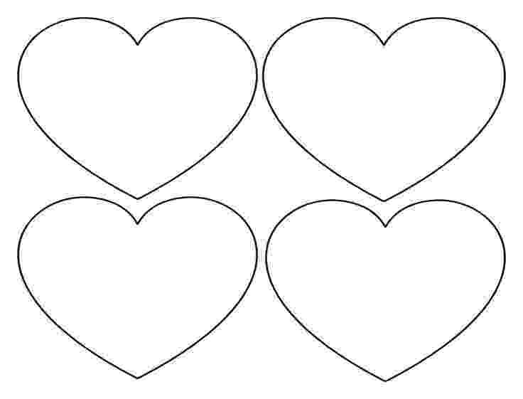 free printable hearts free printable heart templates large medium small free hearts printable