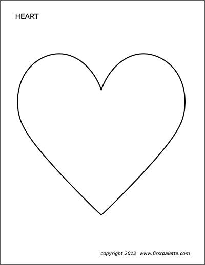 free printable hearts free printable heart templates large medium small printable hearts free