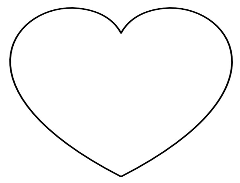 free printable hearts heart stencil plain heart clip art vector clip art free printable hearts