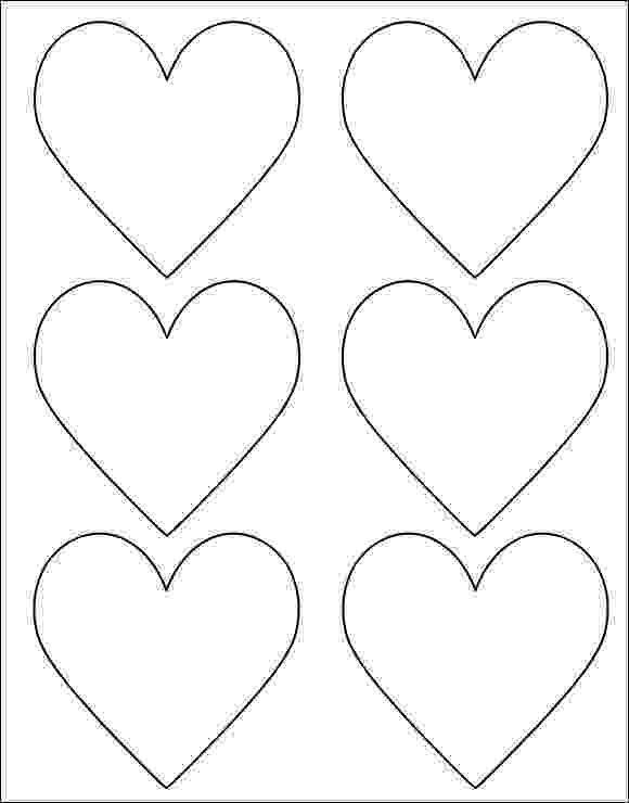 free printable hearts heart stencil template clipart best hearts printable free