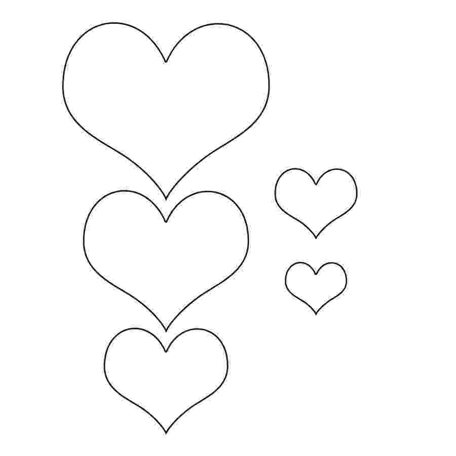 free printable hearts super sized heart outline extra large printable template free printable hearts