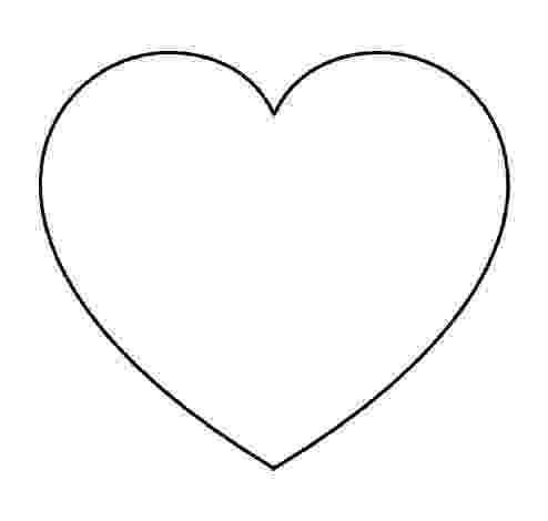 free printable hearts super sized heart outline extra large printable template printable free hearts