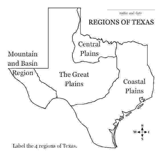 free printable map of texas saladogt regions of texas unit free of map printable texas