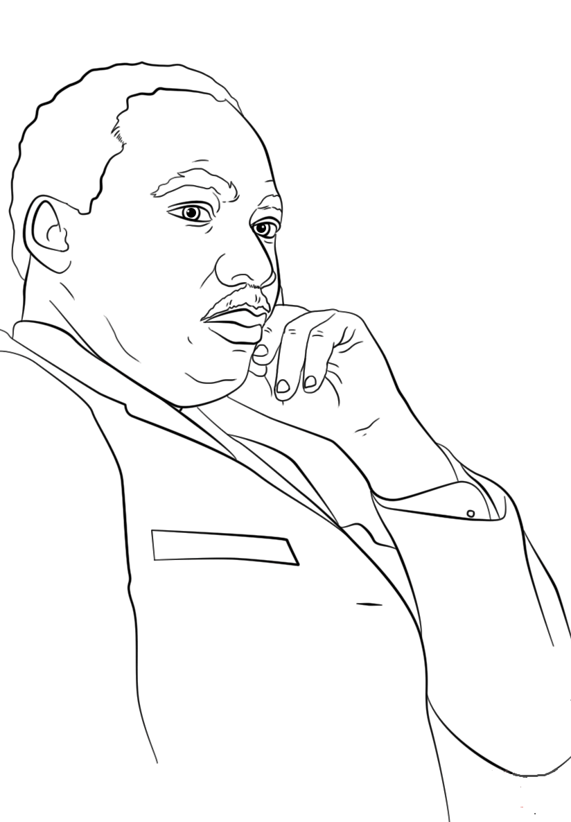 free printable martin luther king coloring pages great quotes coloring pages quotesgram martin free king printable pages coloring luther