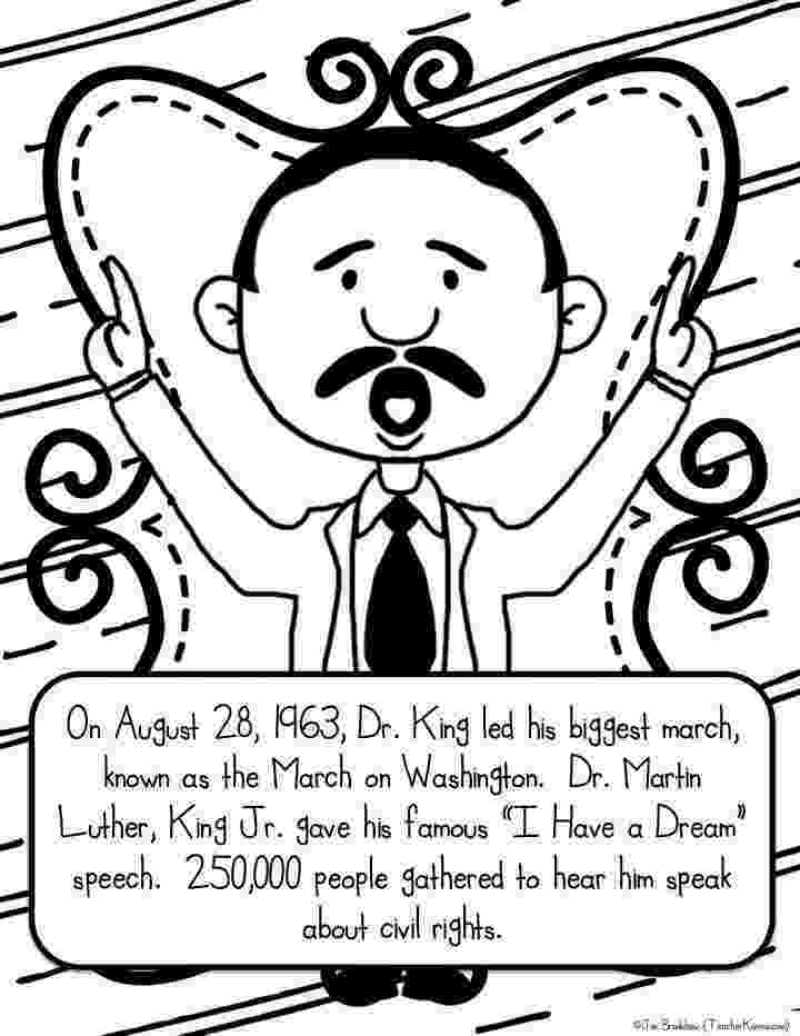 free printable martin luther king coloring pages martin luther king jr freebie teacher karma martin coloring printable free king luther pages