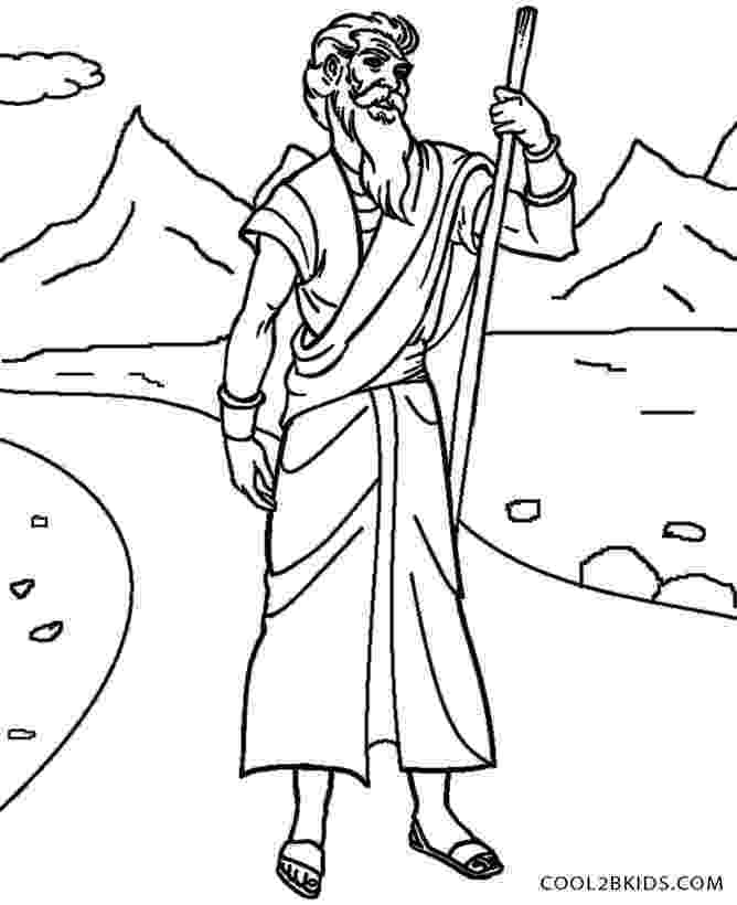 free printable moses coloring pages baby moses floated on the river coloring pages moses pages printable coloring free
