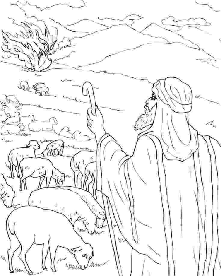free printable moses coloring pages free printable moses coloring pages for kids burning pages free coloring printable moses