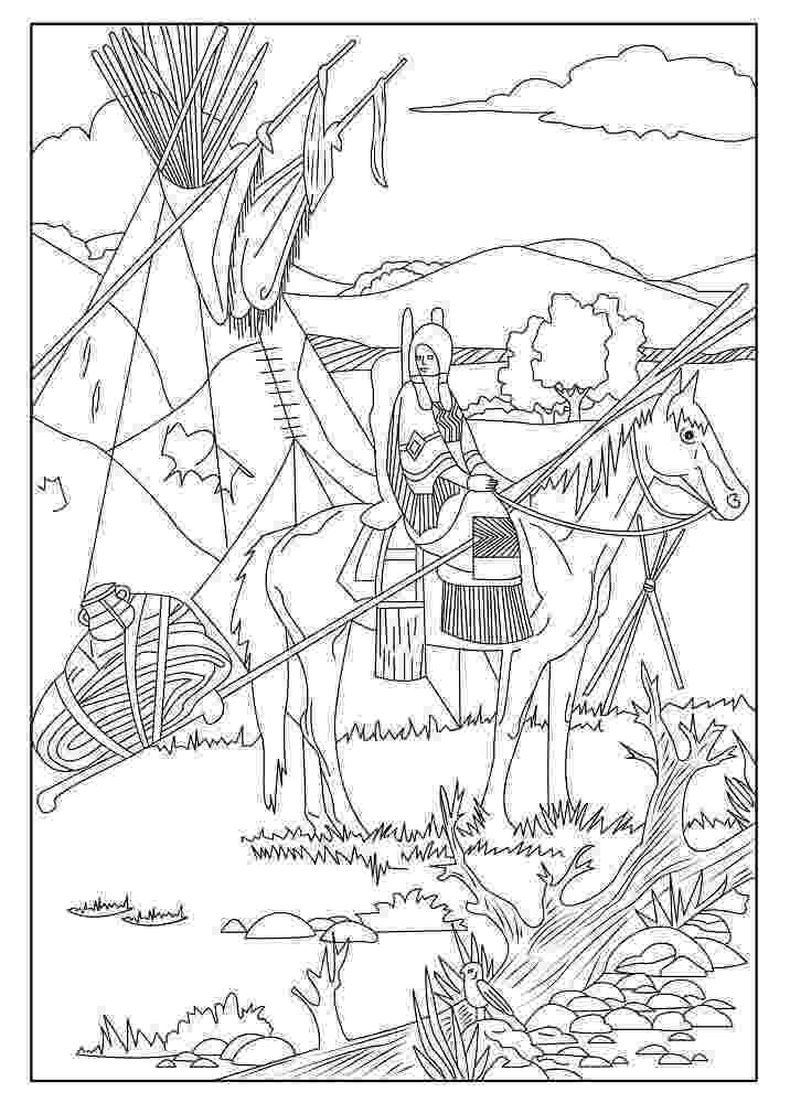 free printable native american coloring pages native american printable coloring pages coloring home native pages printable coloring american free
