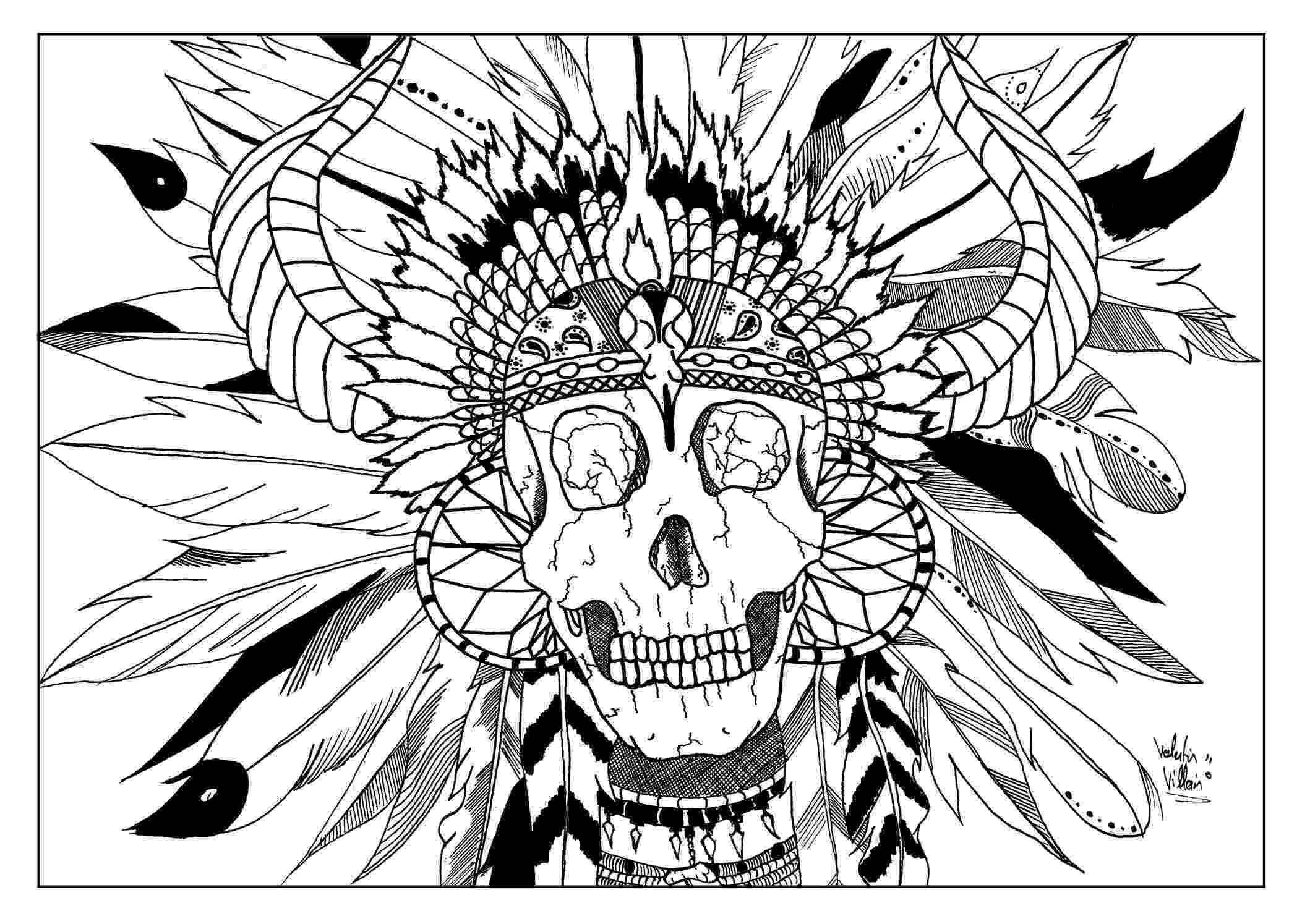 free printable native american coloring pages skull indian native american adult coloring pages free coloring pages printable native american