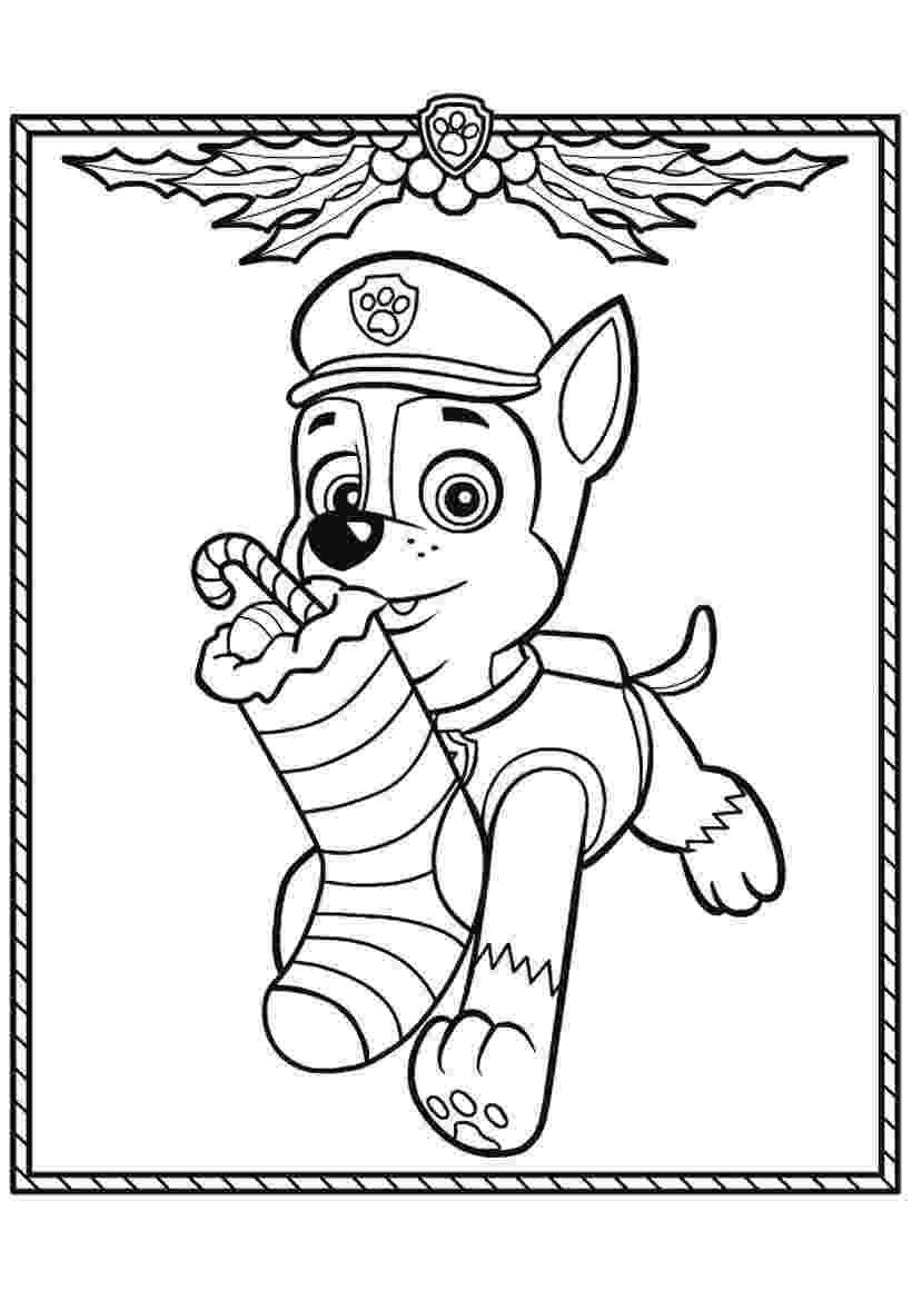 free printable paw patrol christmas coloring pages print paw patrol christmas gifts coloring pages paw printable pages free coloring patrol christmas paw