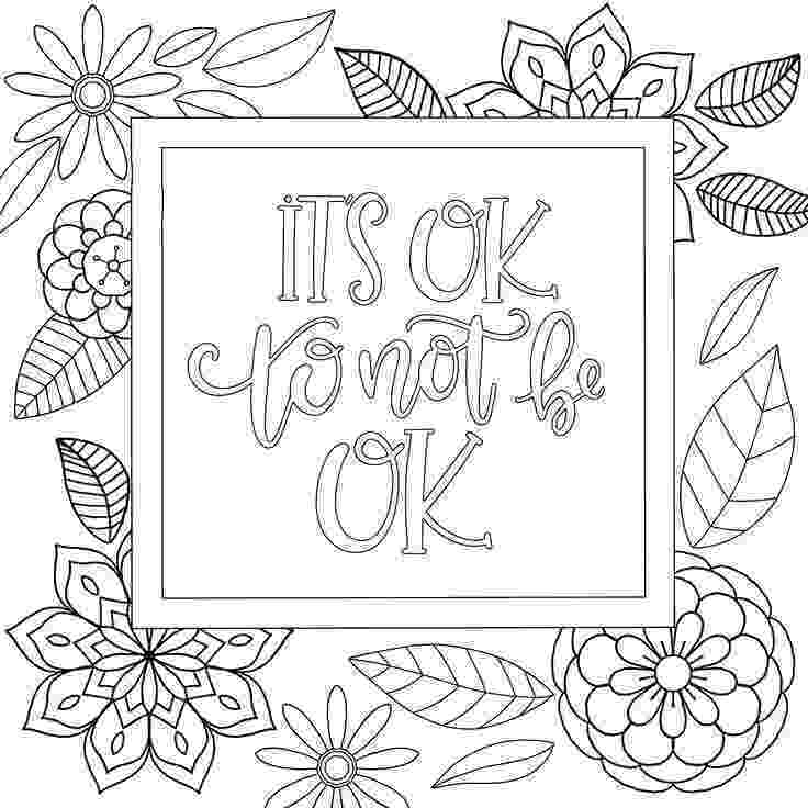 free printable quote coloring pages for adults 3 motivational printable coloring pages zentangle coloring for quote printable free pages adults coloring