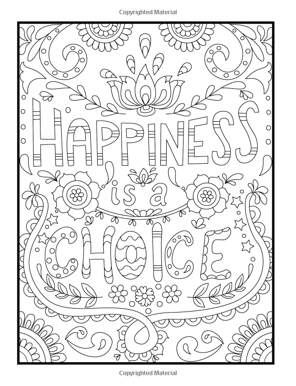 free printable quote coloring pages for adults amazoncom inspirational quotes an adult coloring book quote for pages adults coloring free printable