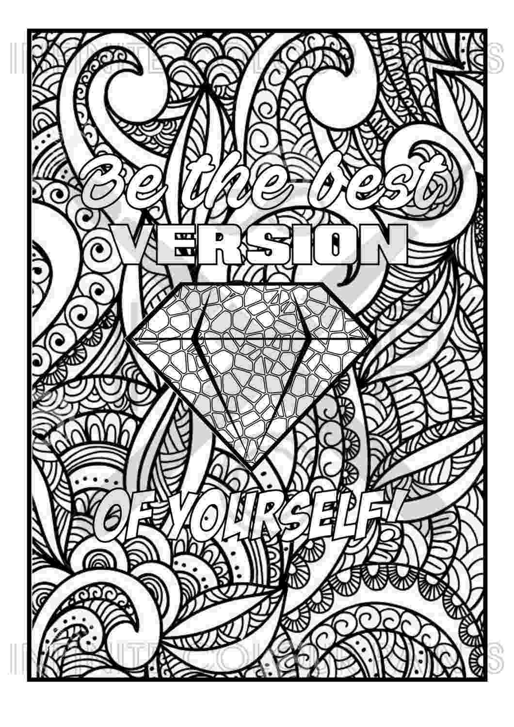 free printable quote coloring pages for adults free adult coloring page coloring contest quote quote for pages adults printable free coloring