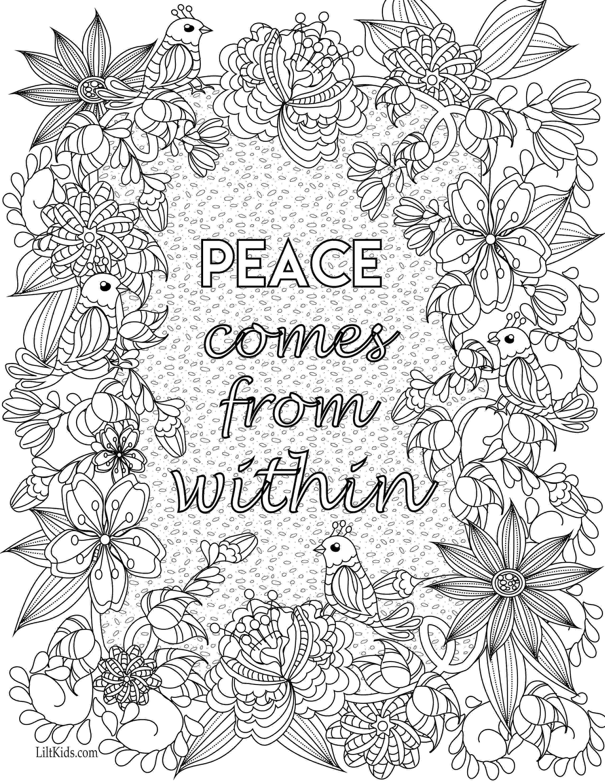 free printable quote coloring pages for adults free inspirational quote adult coloring book image from for coloring pages free quote printable adults