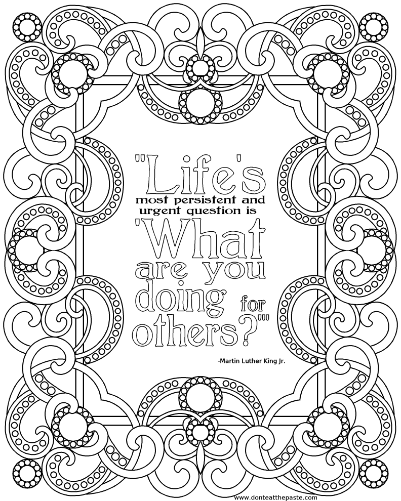 free printable quote coloring pages for adults pin by colette banks on essence of ink adult coloring quote printable pages free coloring for adults