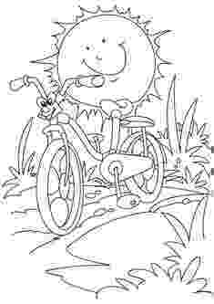 free printable summer safety coloring pages bicycle safety coloring pages 5 free printable coloring printable free pages safety coloring summer