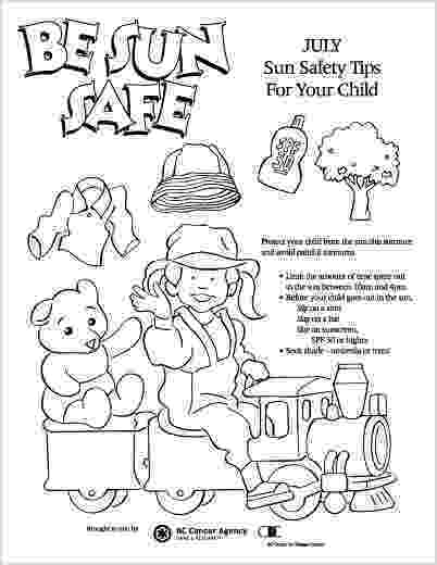 free printable summer safety coloring pages pacey pacey design illustration portfolio printable summer pages safety free coloring