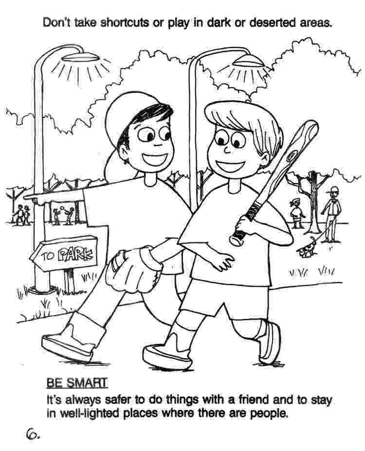 free printable summer safety coloring pages pin by sandy turner on ideas for tigers stranger danger pages printable coloring free safety summer