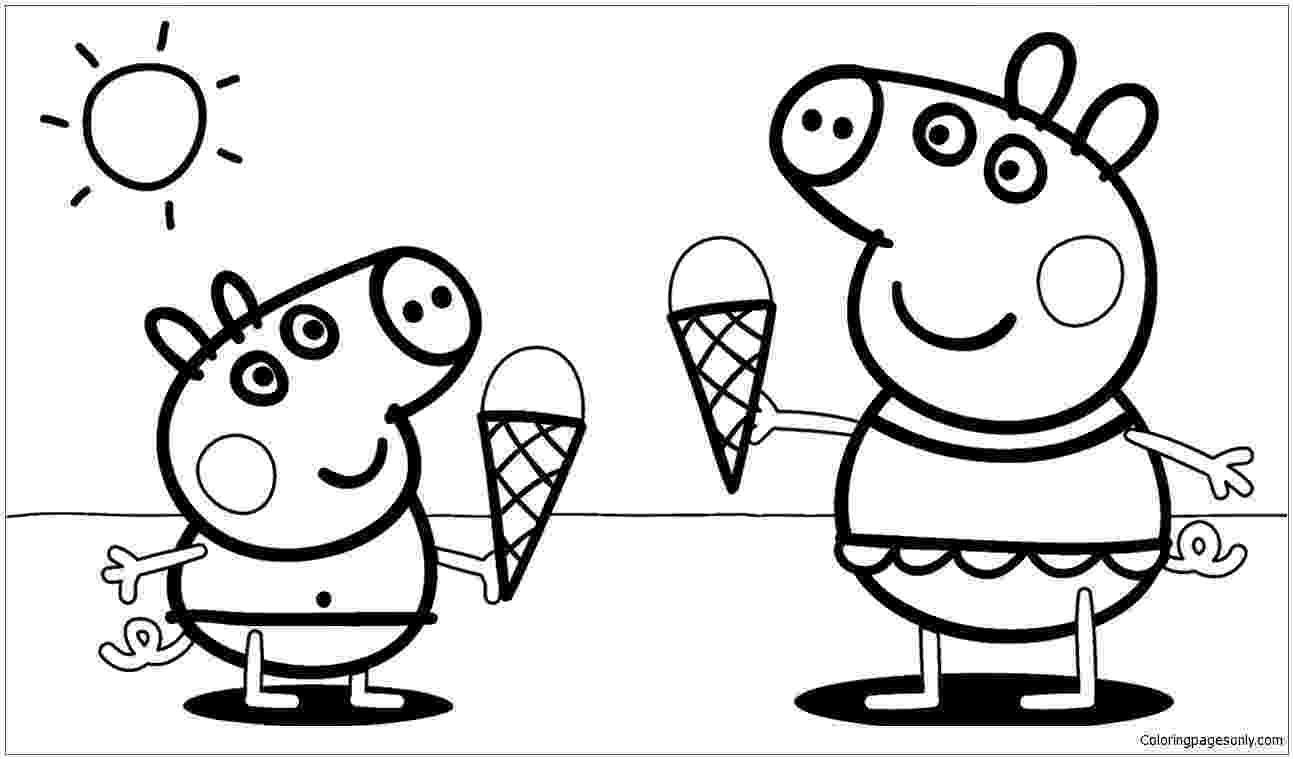 free printables peppa pig peppa pig coloring page free printable coloring pages pig printables free peppa