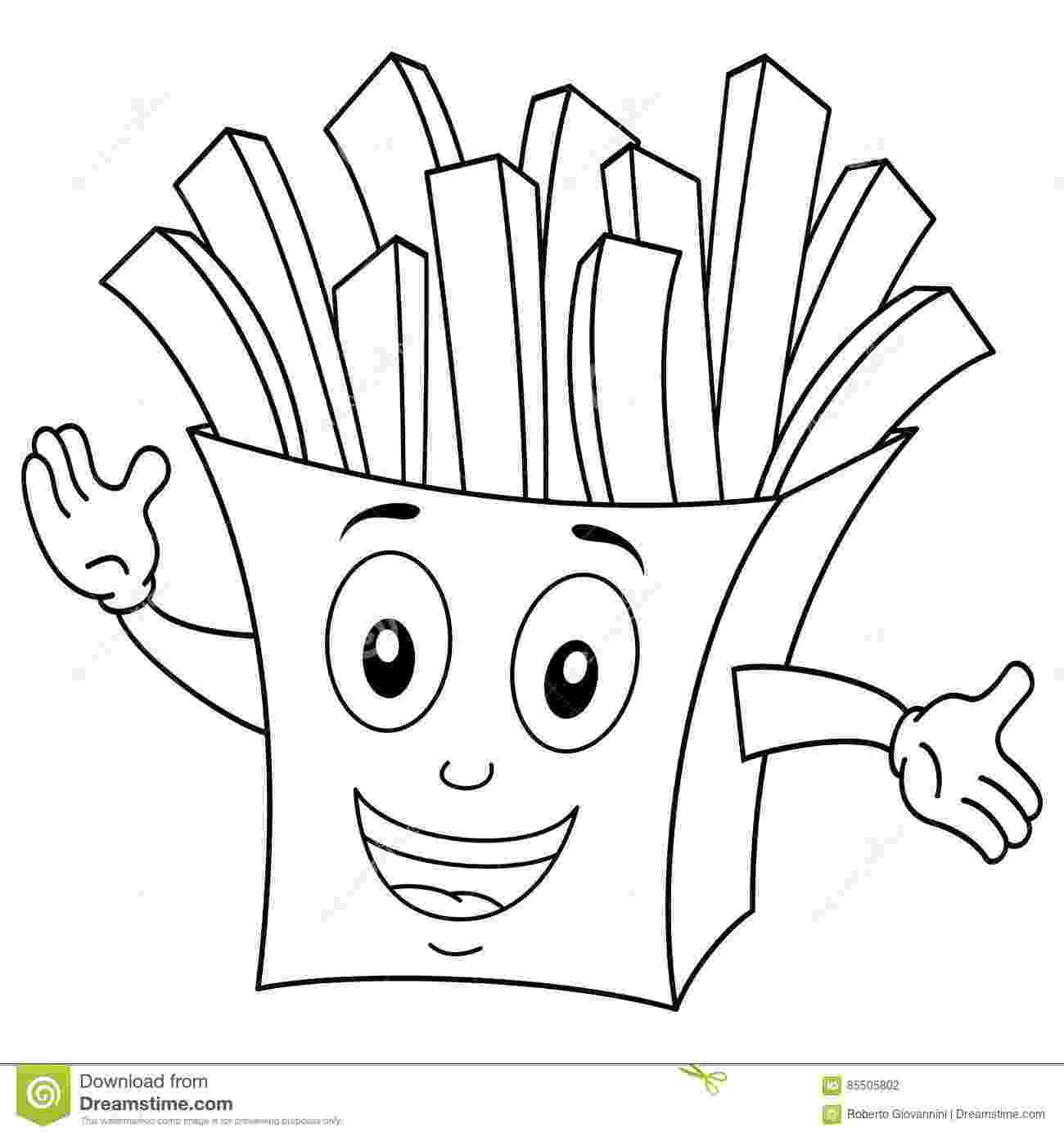 french fries coloring page 10 printable burger coloring pages for your little one fries page french coloring