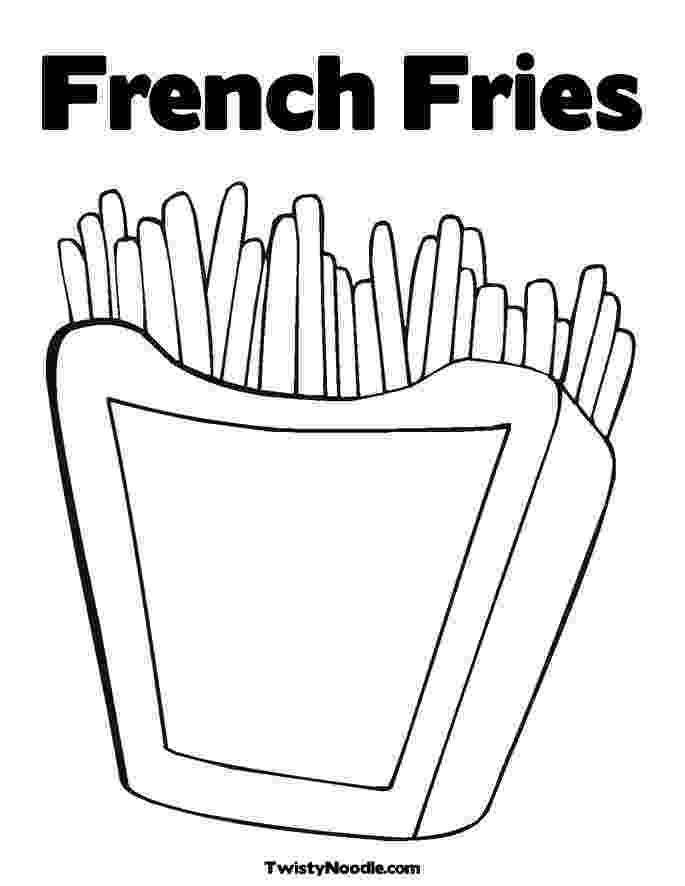 french fries coloring page andy warhol coloring pages free coloring home page coloring french fries