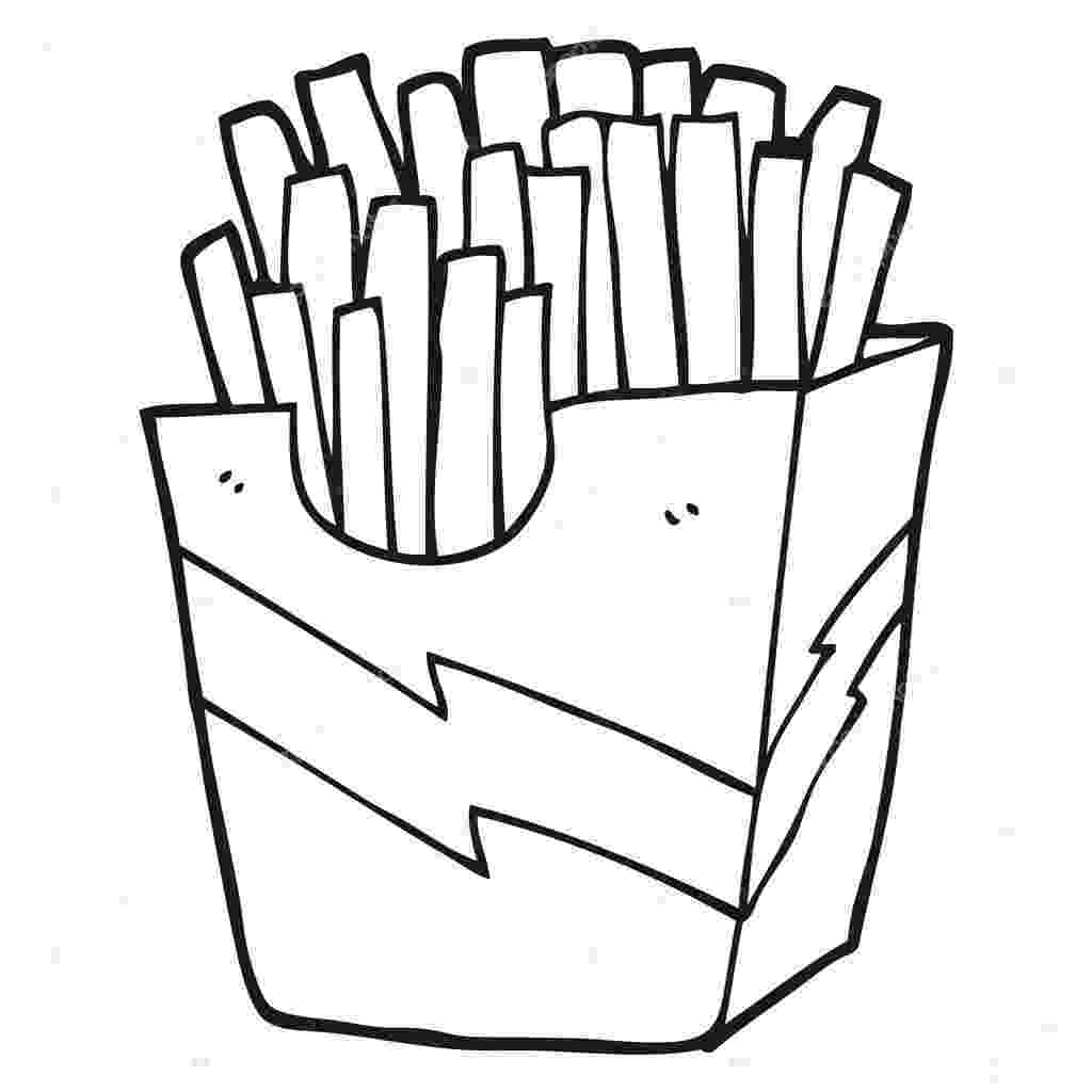 french fries coloring page download online coloring pages for free part 48 page fries coloring french