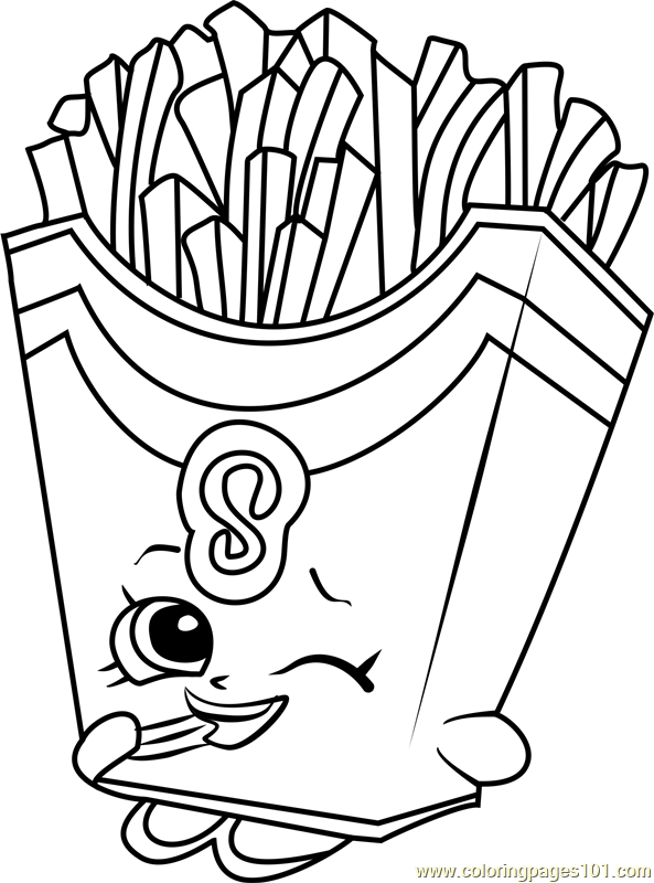 french fries coloring page french fries box free food icons french fries page coloring