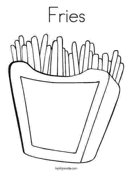 french fries coloring page french fries line art clip art at clkercom vector clip fries coloring page french
