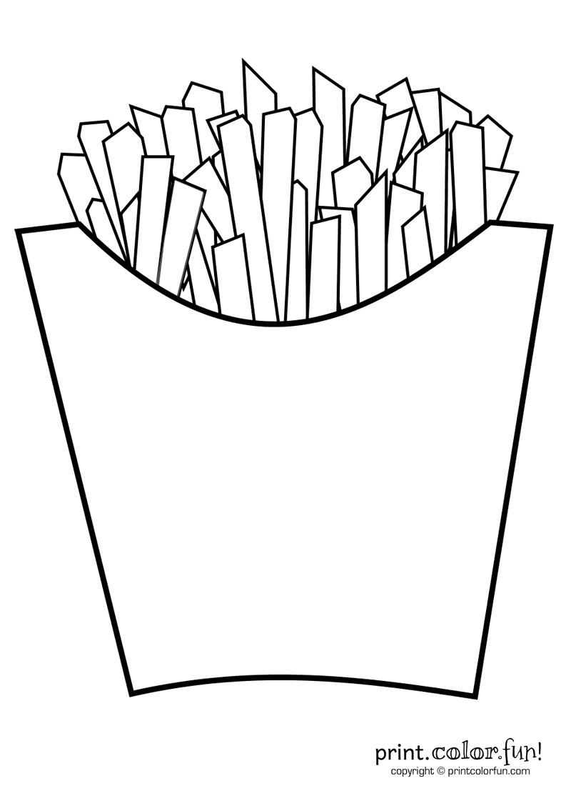 french fries coloring page french fries print color fun free printables page french fries coloring