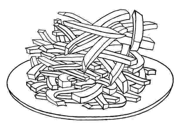 french fries coloring page fries coloring page twisty noodle fries coloring french page