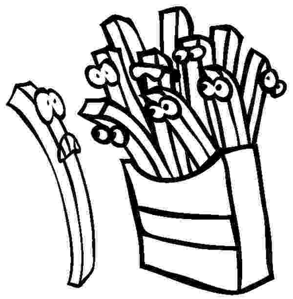 french fries coloring page tasty french fries coloring page coloring sky page coloring fries french