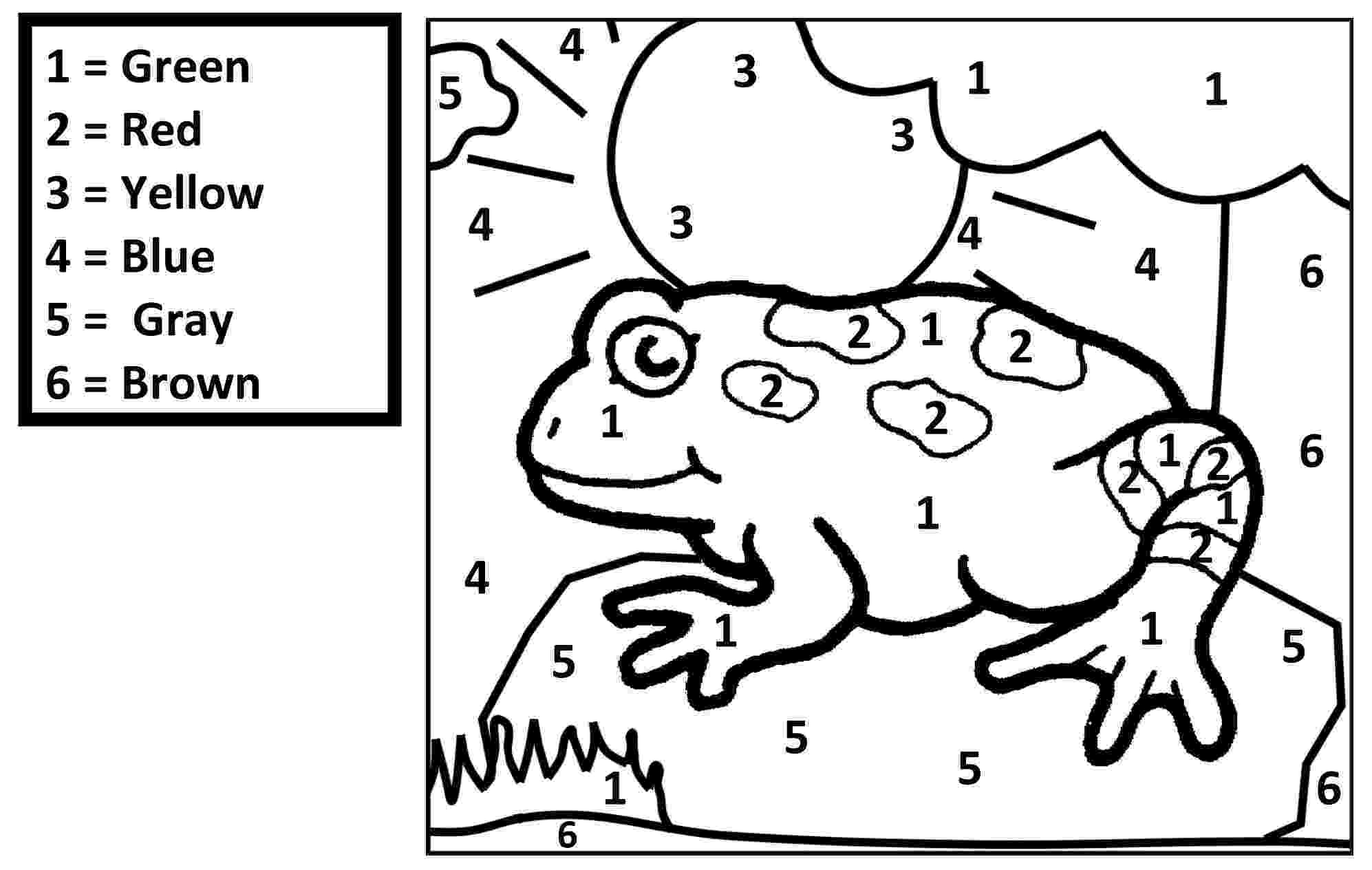 frog color by number color number find jesus name 464788 coloring pages for frog by number color