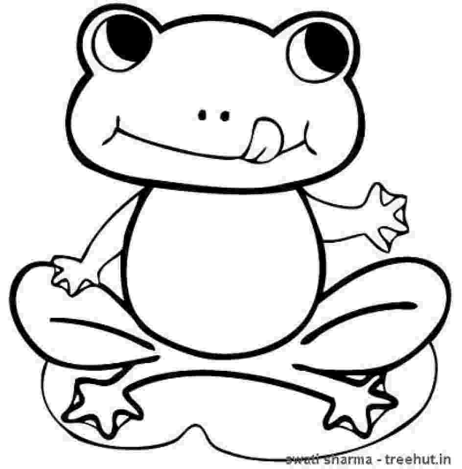 frog images to color free frog coloring pages frog to color images