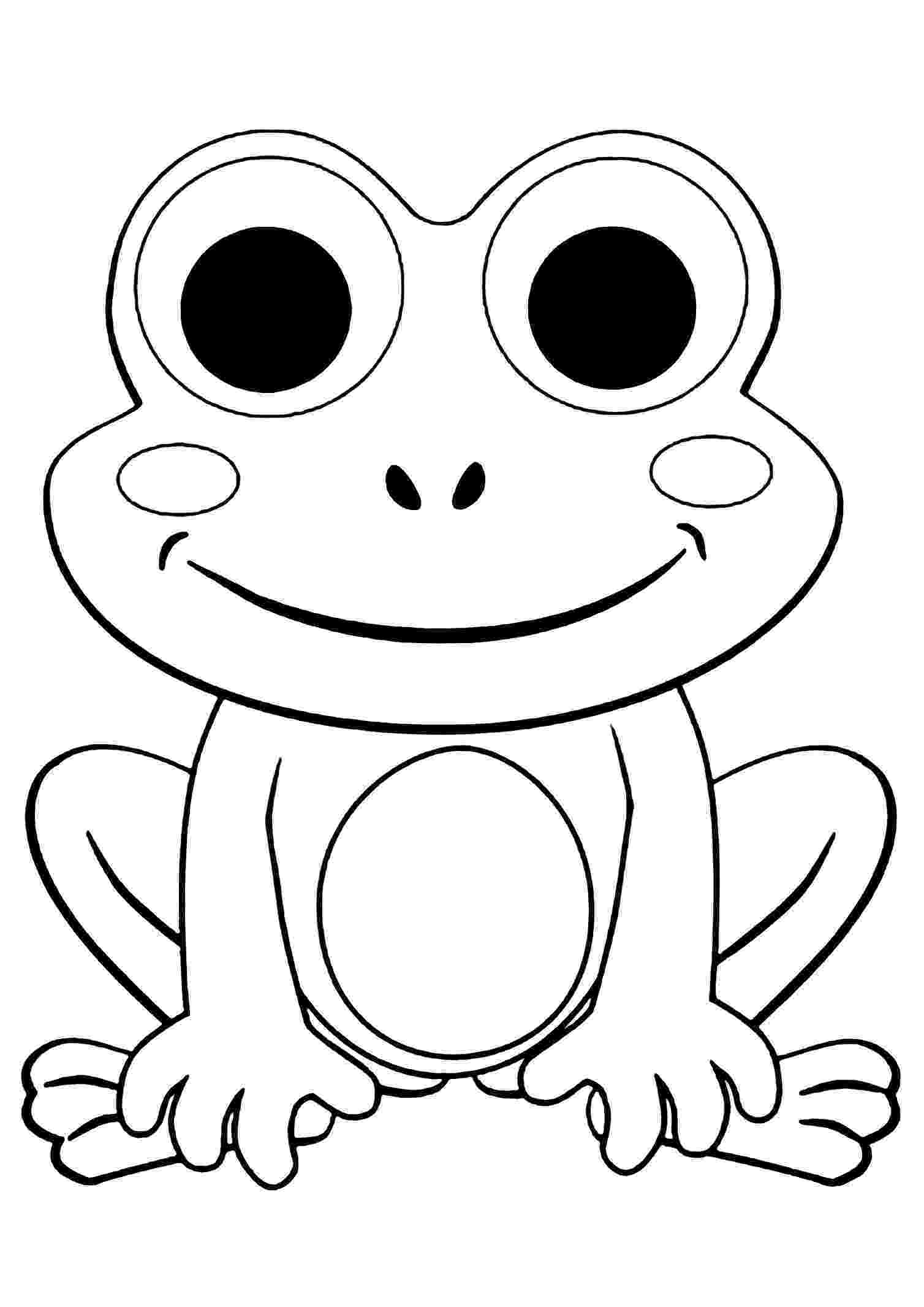 frog images to color free outline of a frog download free clip art free clip images frog color to