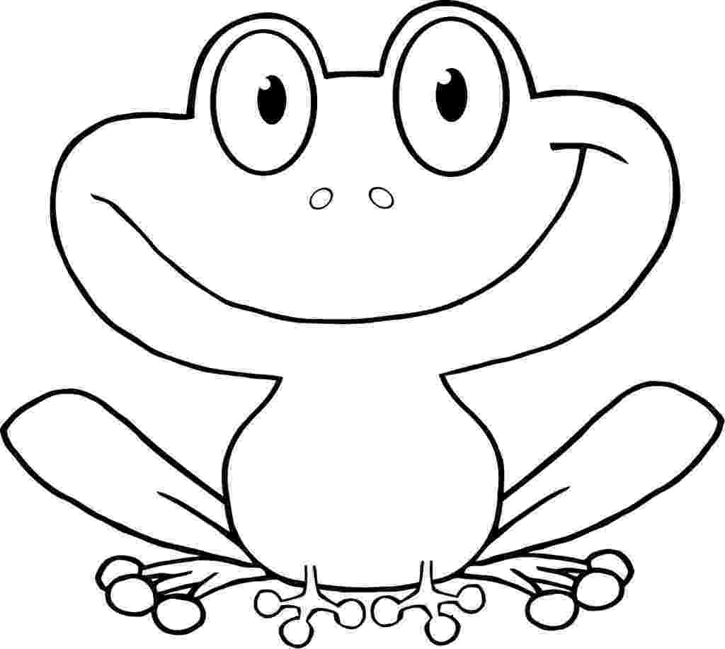frog images to color free printable frog coloring pages for kids animal place frog images color to