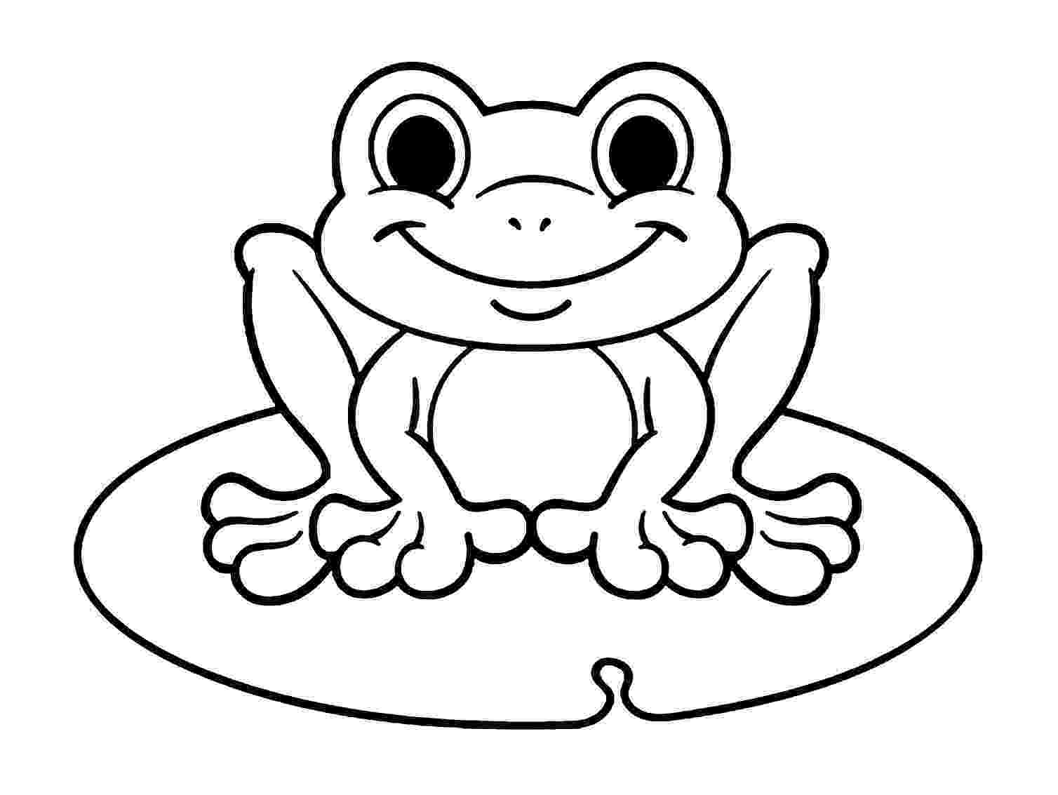 frog images to color free printable frog coloring pages for kids color frog to images
