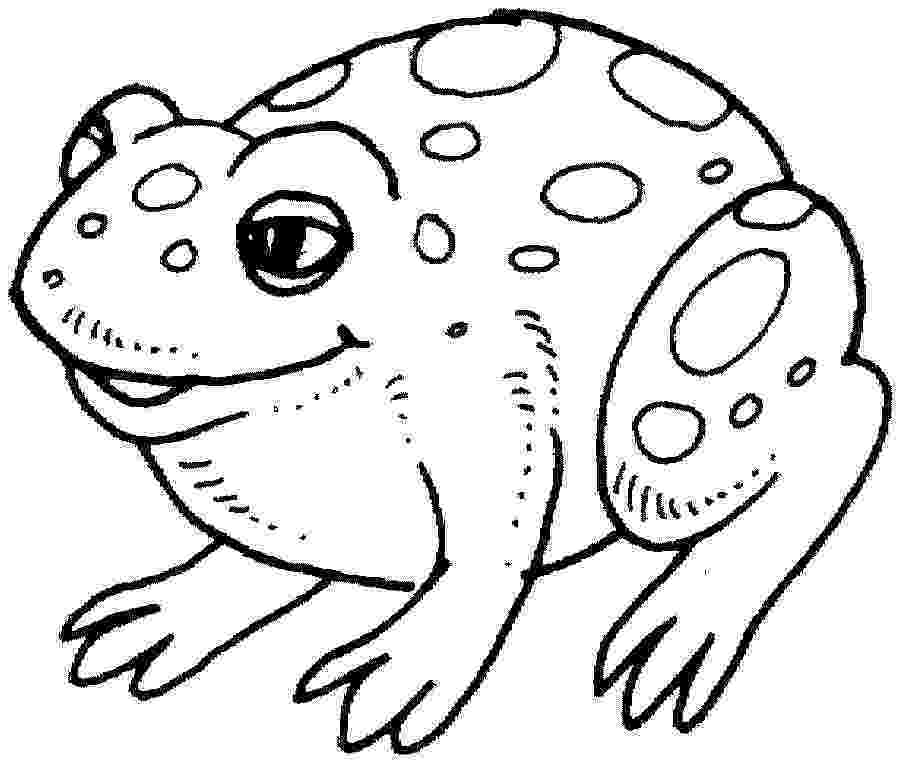 frog images to color frogs coloring pages to download and print for free frog to color images