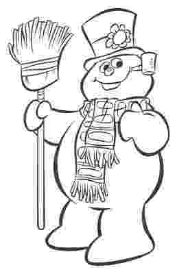 frosty coloring pages patrick owsley cartoon art and more february 2007 frosty coloring pages