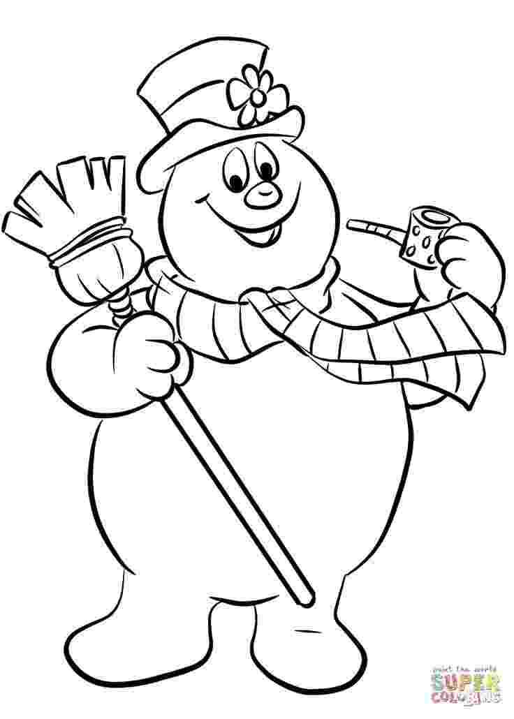 frosty the snowman printable pictures frosty the snowman coloring pages printable shelter the pictures snowman frosty printable