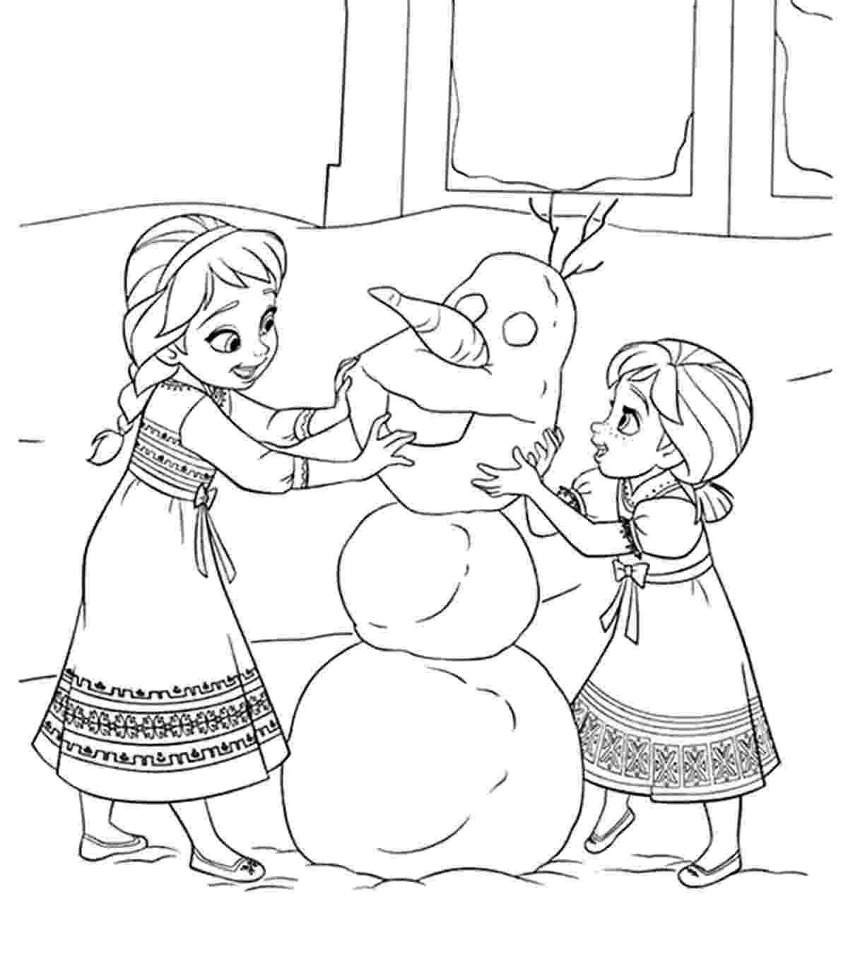 frozen color pages free printables for the disney movie frozen skgaleana color frozen pages