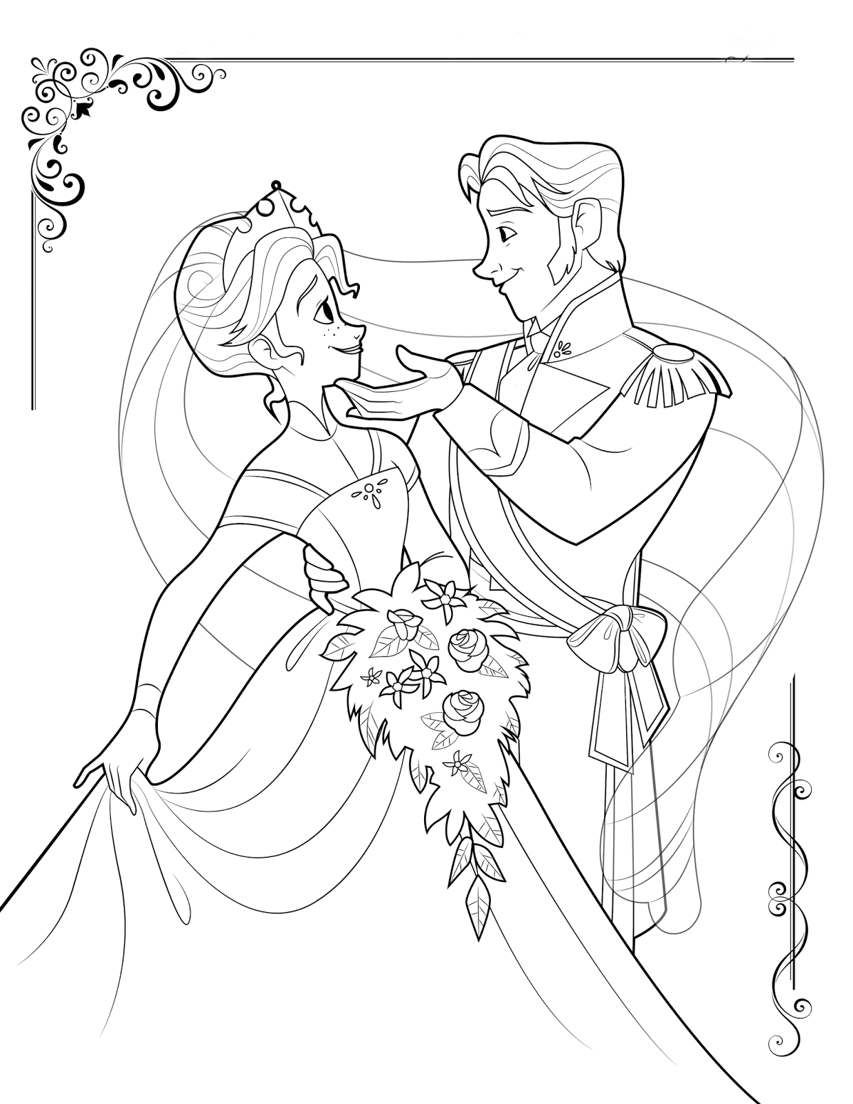 frozen free coloring pages free printable frozen coloring pages for kids best coloring frozen pages free