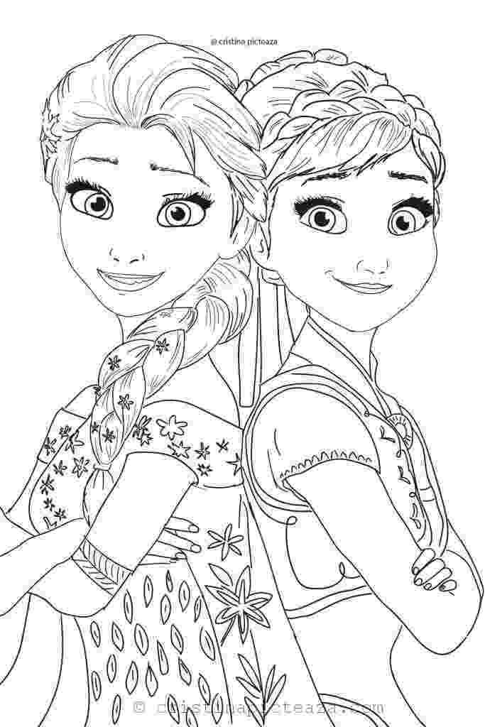 frozen free coloring pages frozen elsa and anna coloring pages getcoloringpagescom frozen coloring pages free