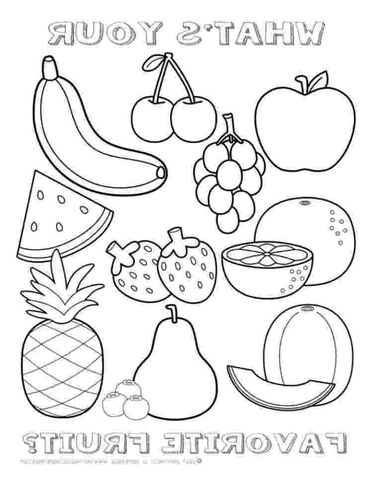 fruits coloring sheets 1000 images about fruit and veggies theme on pinterest coloring sheets fruits